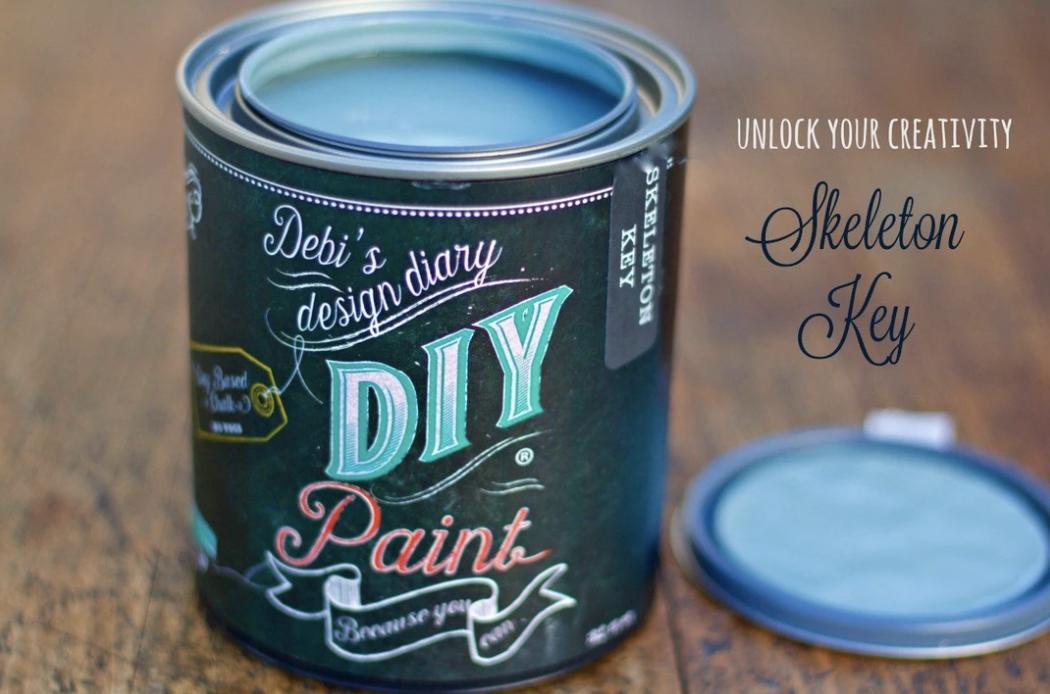DIY Paint Skeleton Key
