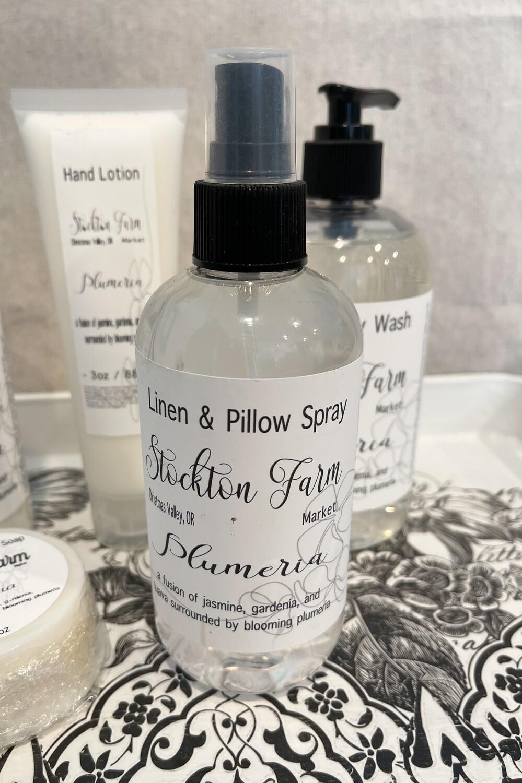 Plumeria Linen & Pillow Spray 8oz