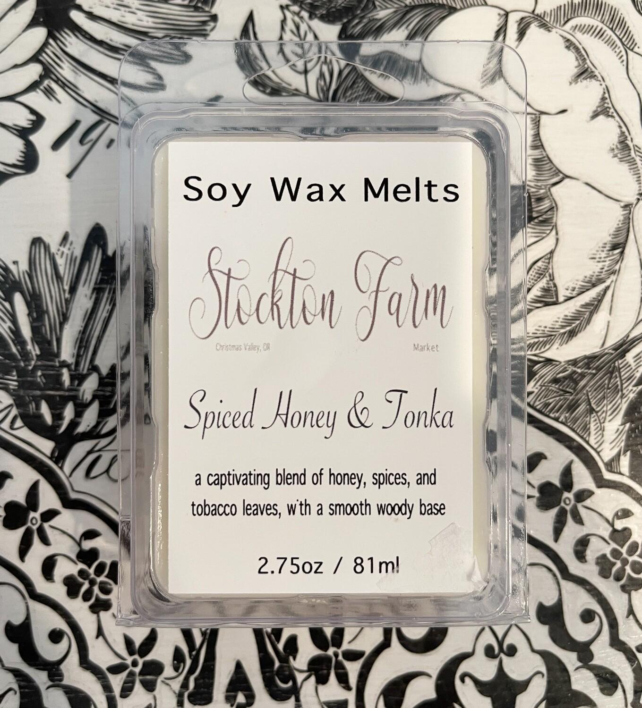 Spiced Honey & Tonka Soy Wax Melts