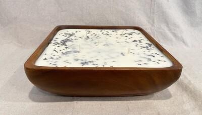 Lavender Wood Bowl Candle 80oz