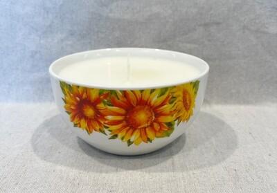 Very Vanilla Sunflower Bowl Candle 16oz