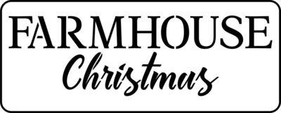 JRV Farmhouse Christmas Stencil