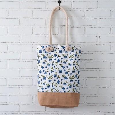 Blueberries Market Bag