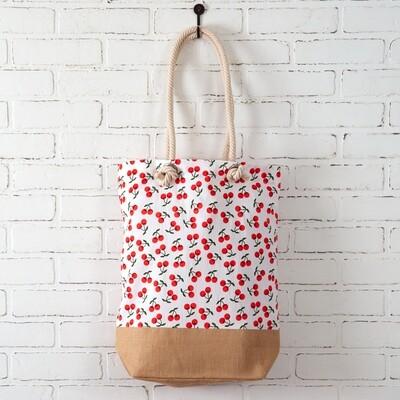 Cherries Market Bag