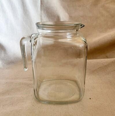 Bormioli Rocco Square Glass Pitcher