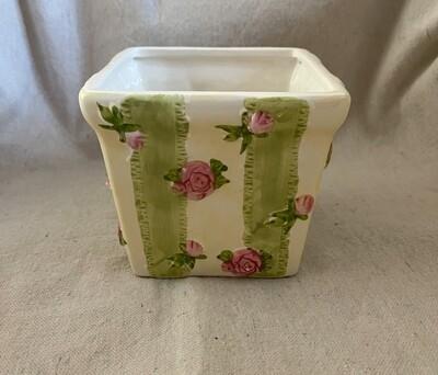 Rose Ceramic Flower Pot