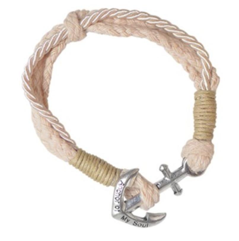 Faith Gear Anchor Bracelet