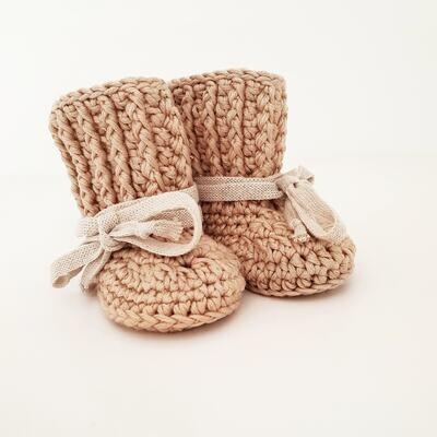 Booties - Shoelace Tie