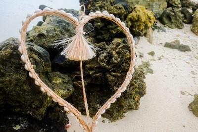 Shell Heart Wall Decor