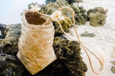 Island Girl Woven Bag