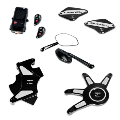 Diavel 1260 Urban accessory package