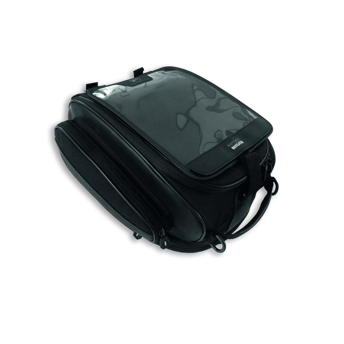 Magnetic tank bag.