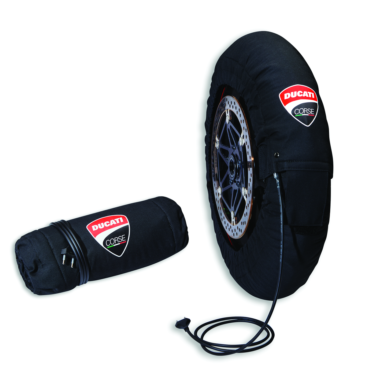 Panigale V4 Tyre Warmer Set.