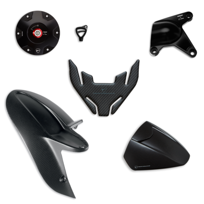 Style Hypermotard 950 accessory package.