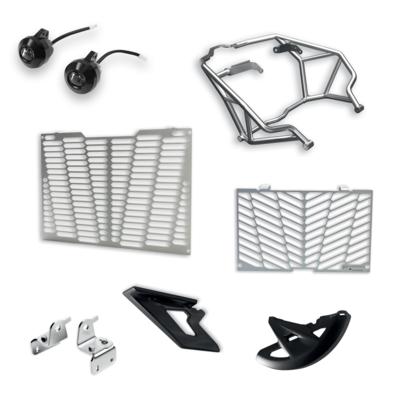 Enduro Multistrada 1260 Enduro accessory package.