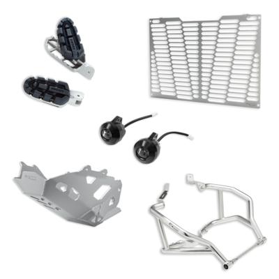 Multistrada 950 Enduro accessory package.