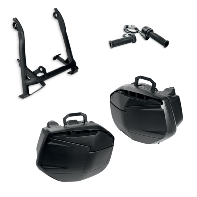 Multistrada 950 Touring accessory package.