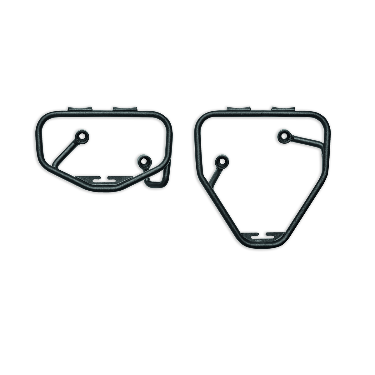 Brackets for soft side bags.