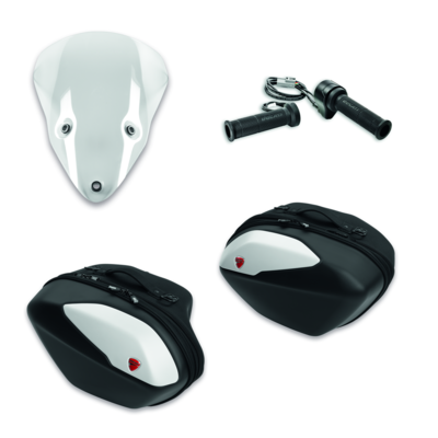 SuperSport Touring accessory package Star white silk