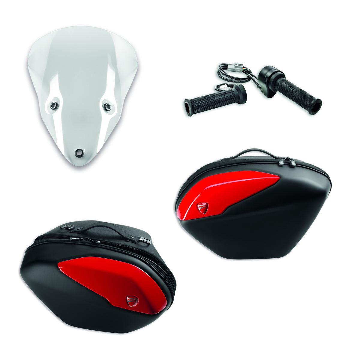 SuperSport Touring accessory package Red