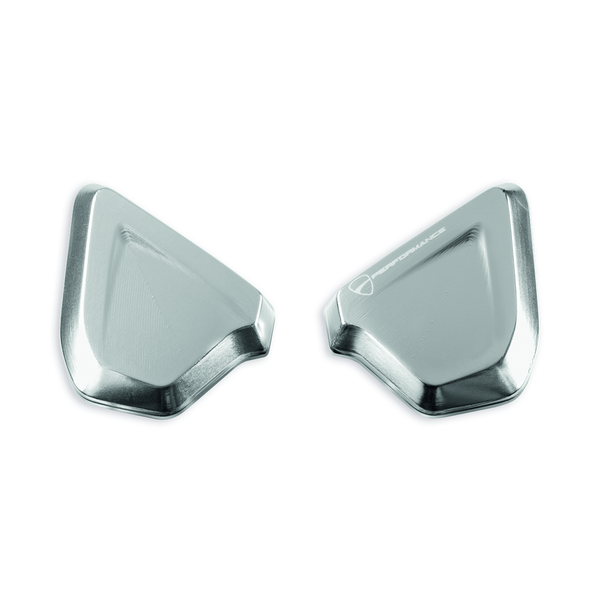 Billet aluminum caps to plug mirror mounting holes.