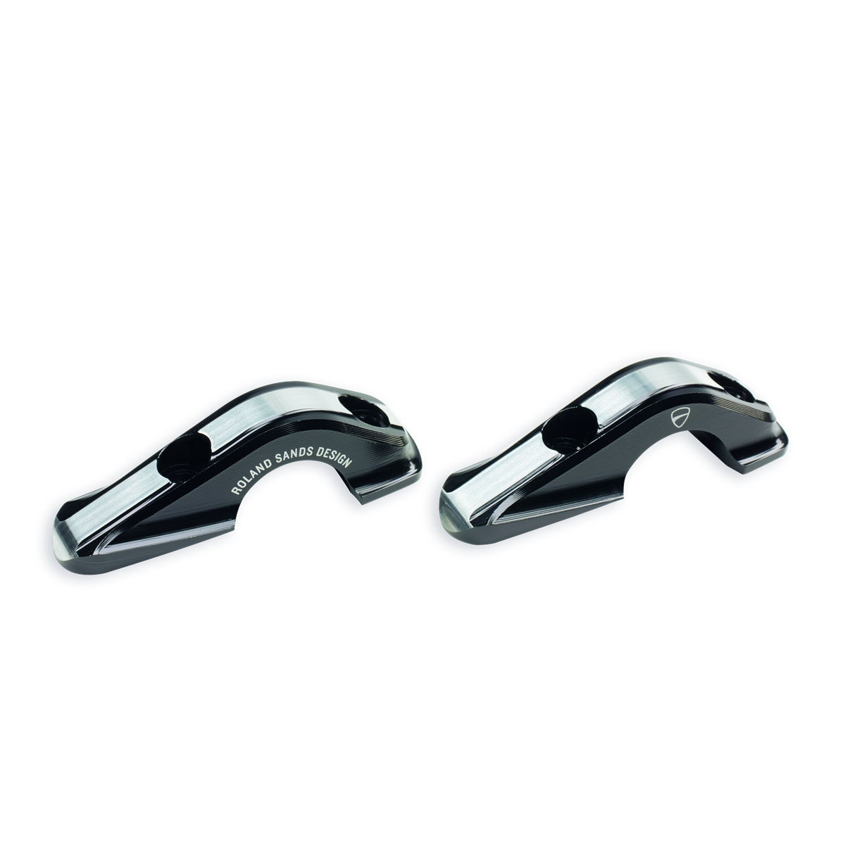 Handlebar upper U-bolts.