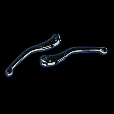 Set of billet aluminium brake and clutch levers.