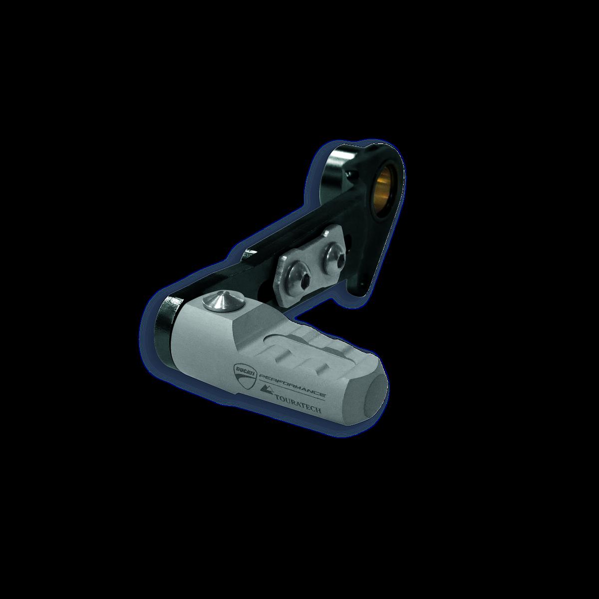 Fold-away gearchange lever.