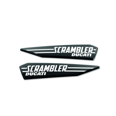 Set of Scrambler Icon logos.