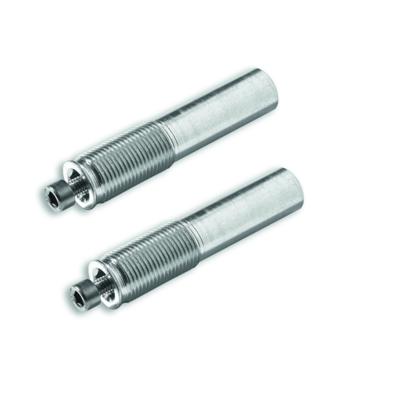 Adapter for handlebar counterweights.