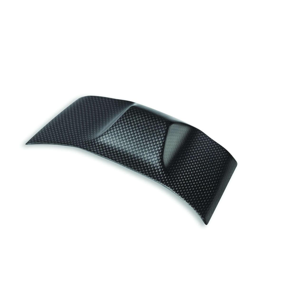 Carbon cover for hands-free antenna.