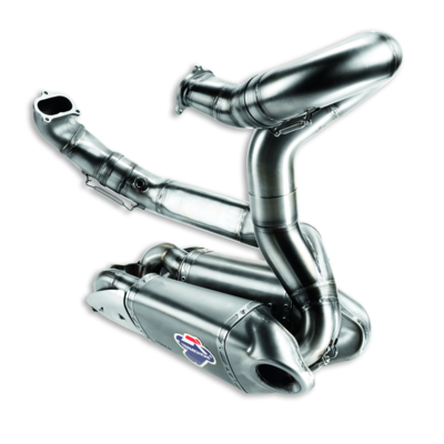 Ducati Corse complete exhaust unit.