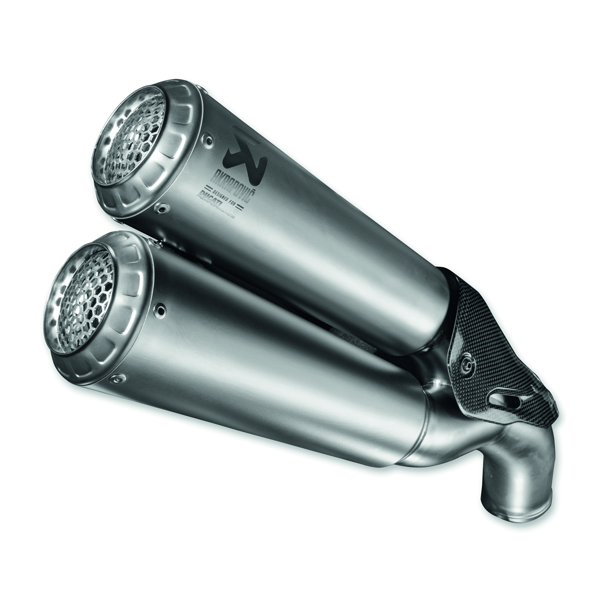 Type-approved silencers.