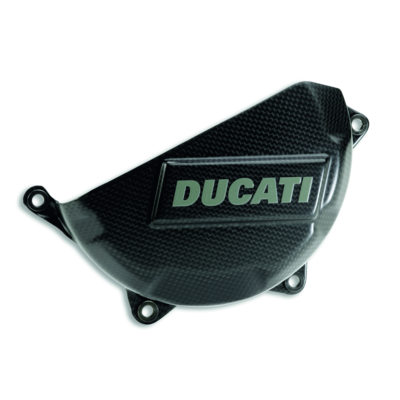 Carbon cover for clutch case