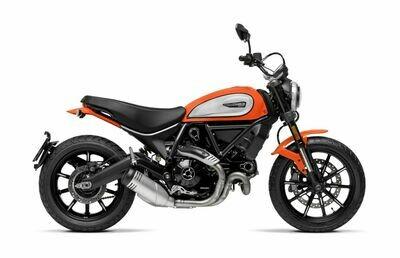 Scrambler 800 Icon Facelift Orange 2020