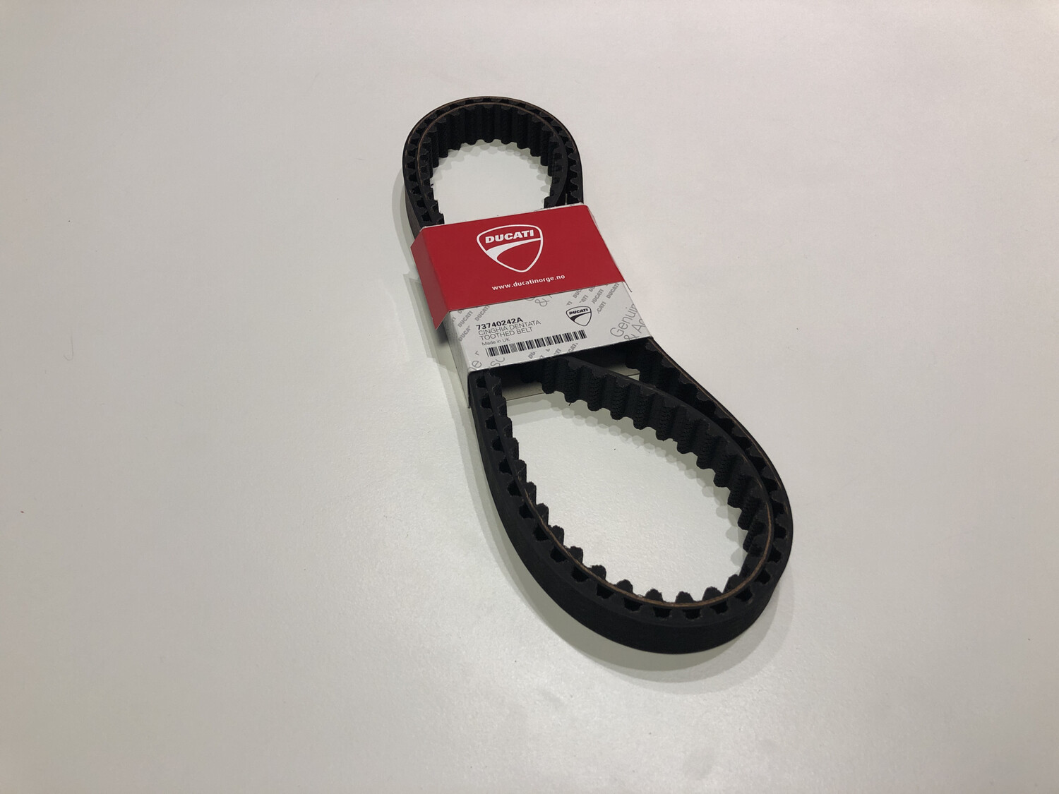 Timing toothed belt 2 pk