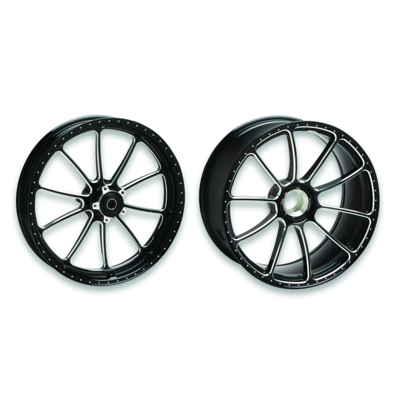 Forged aluminium rims.
