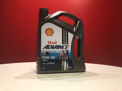 Shell Advanced Ultra 4T 15W-50 4L