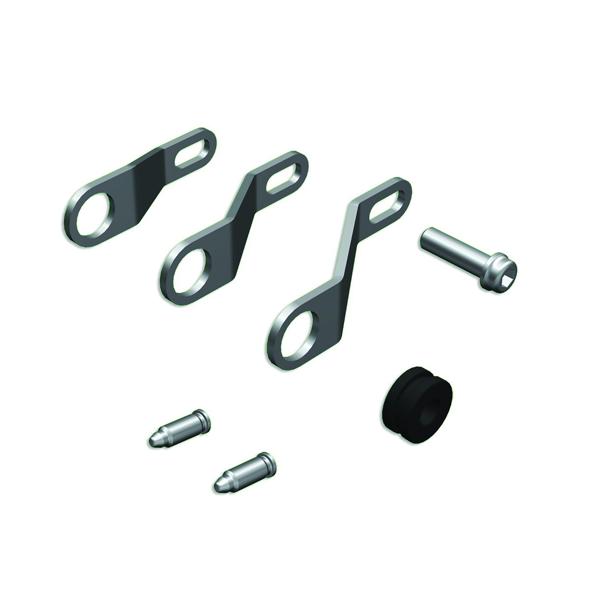 Additional Brackets for footrests Ducati By Rizoma