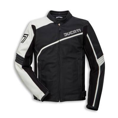 Ducati 77 - Leather jacket Man