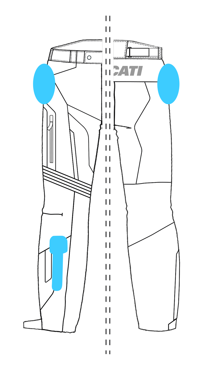 Strada C4 - Fabric trousers