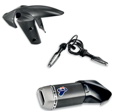 Sport Multistrada 1260 accessory package.