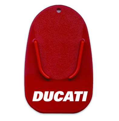 DUCATI RED STAND BASE PLATE