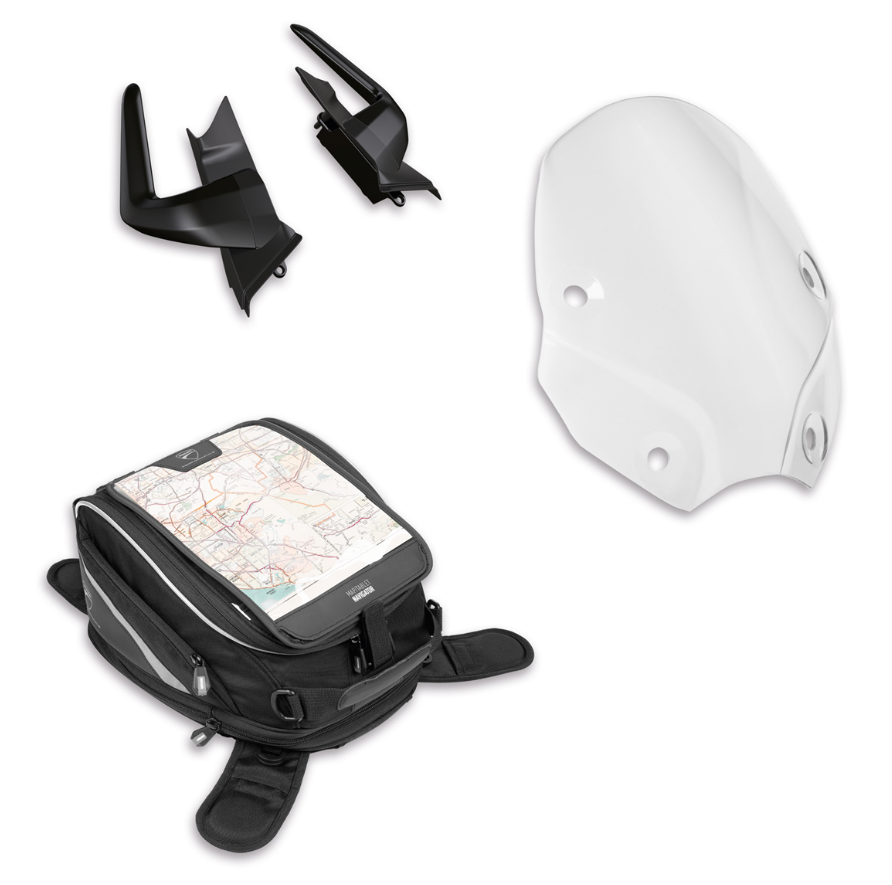 Monster Touring accessory pack