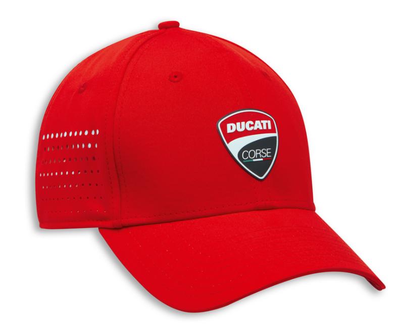 Cap DC strecth Red new era  M-L