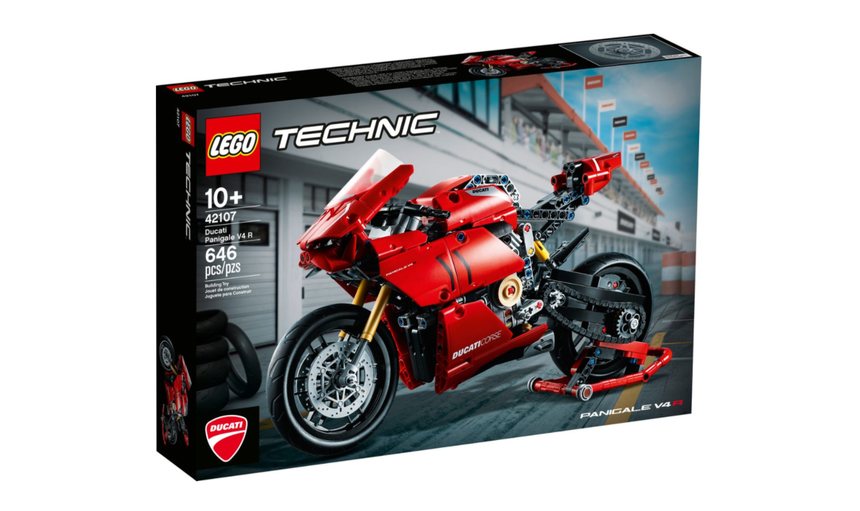 LEGO Bike Model Panigale V4R
