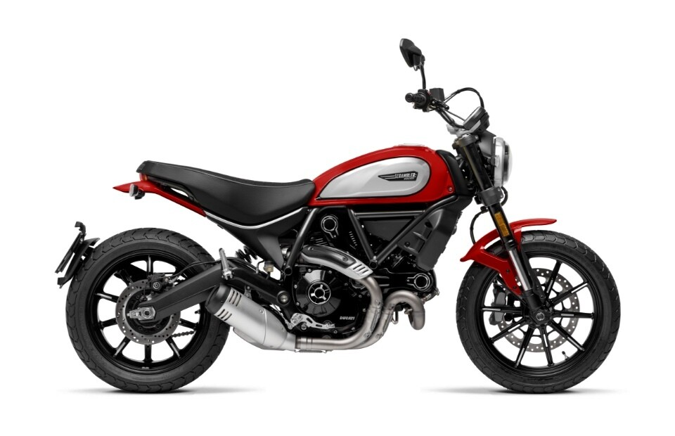 Scrambler 800 Icon Red 2021
