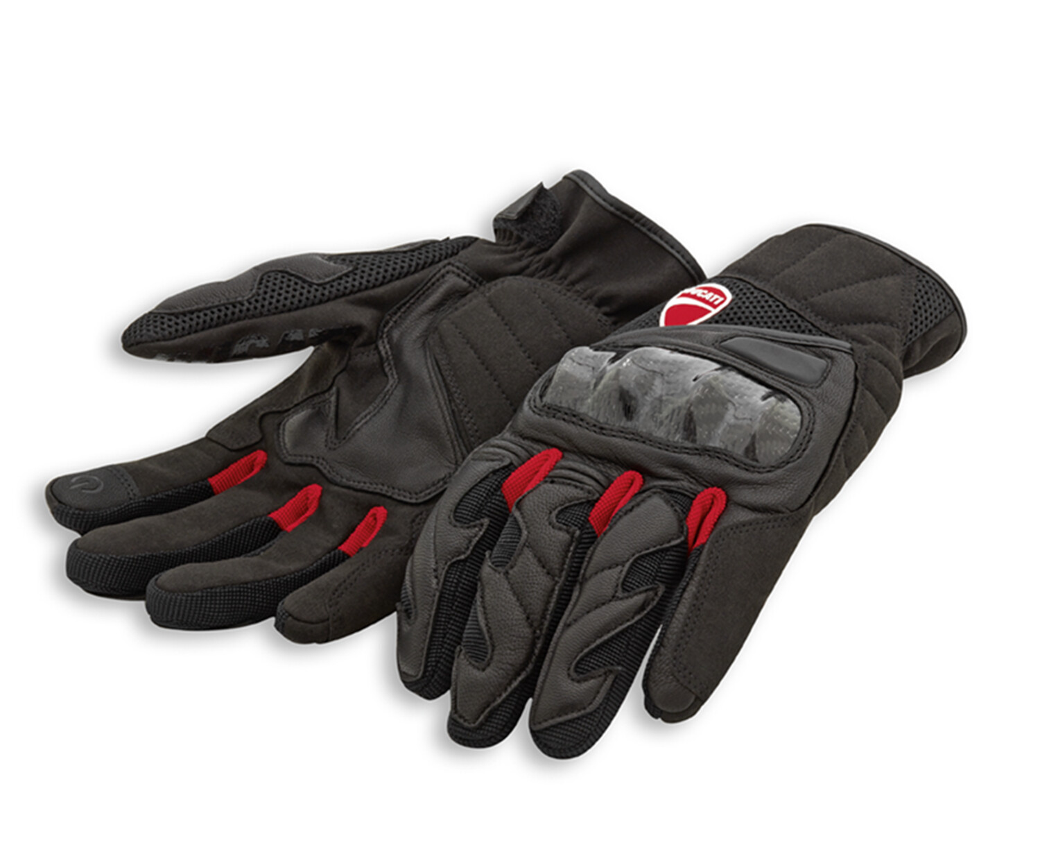 City C3 Fabric-leather gloves
