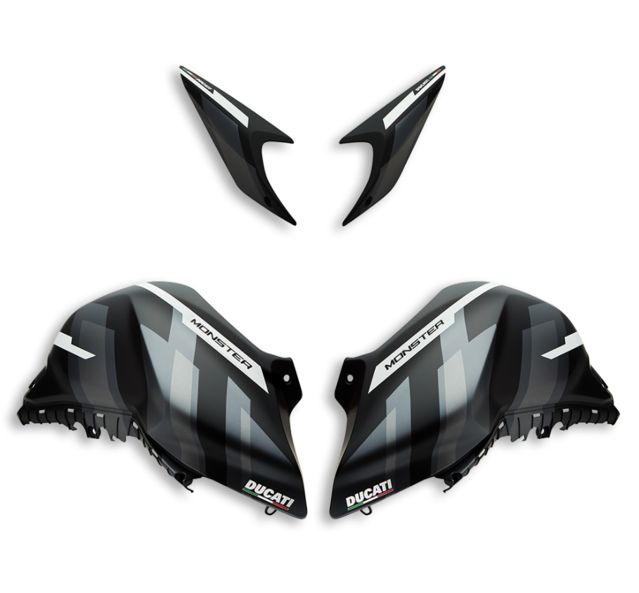 MONSTER GP CUSTOMISATION KIT BLACK