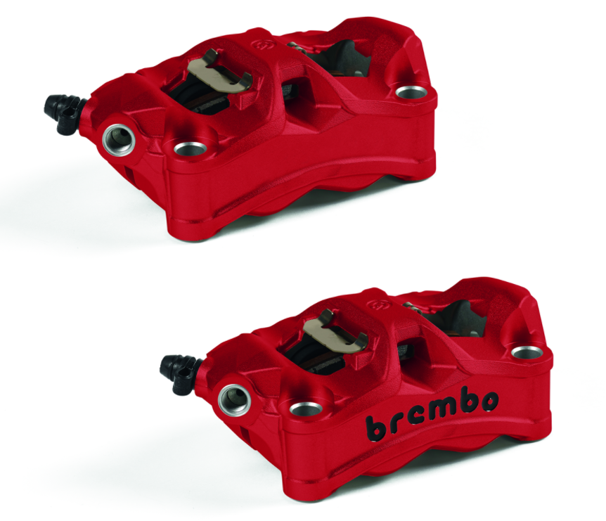 COLOURED FRONT BRAKE CALLIPERS RED
